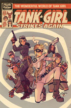Image: Wonderful World of Tank Girl #1 (cover A - Parson) - Titan Comics