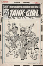 Image: Wonderful World of Tank Girl #1 (cover D - Parson Art edition) - Titan Comics