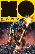 Image: X-O Manowar [2017] #8 (cover A - Larosa) - Valiant Entertainment LLC