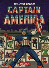 Image: Little Book of Captain America Flexicover  - Taschen America L.L.C.