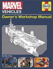 Image: Marvel Vehicles Owners Workshop Manual SC  - Insight Editions