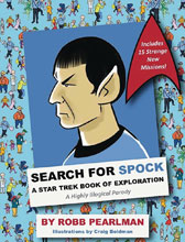 Image: Search for Spock: Star Trek Book of Exploration HC  - Cider Mill Press