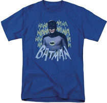 Image: Batman '66 T-Shirt: Nanana [Royal Blue]  (L) - Trevco Sportswear