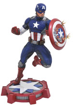 Image: Marvel Gallery PVC Figure: Marvel Now Captain America  - Diamond Select Toys LLC