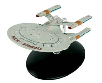 Image: Star Trek Starships Figure Magazine #108 (USS Awahnee Cheyenne Class) - Eaglemoss Publications Ltd