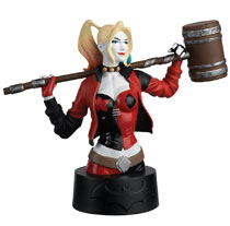 Image: DC Batman Universe Bust Collection #3 (Harley Quinn) - Eaglemoss Publications Ltd