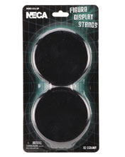 Image: Action Figure Black Display Stand 10Pk 8-Piece Case  - Neca