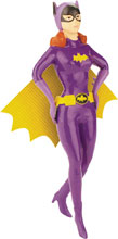 Image: Batman '66 Bendable Figure: Batgirl  (5.5-inch) - N J Croce Company