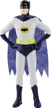Image: Batman '66 Bendable Figure: Batman  (5.5-inch) - N J Croce Company