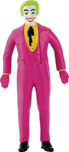 Image: Batman '66 Bendable Figure: Joker  (5.5-inch) - N J Croce Company
