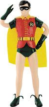 Image: Batman '66 Bendable Figure: Robin  (5.5-inch) - N J Croce Company