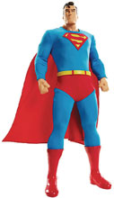 Image: DC Big Figs Tribute Series Action Figure: Superman  (19-inch) - Jakks Pacific