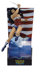 Image: DC Comics Premium Motion Statue: Wonder Woman  (New 52) - Factory Entertainment