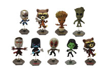 Image: Guardians of the Galaxy Buildable Figures 24-Piece Blind Mystery Box Display  - Ucc Distributing
