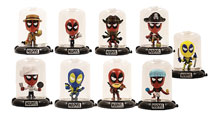 Image: Marvel Deadpool Domez Series 2 Figures 24-Piece Blind Mystery Box Display  - Ucc Distributing