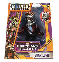 Image: Metals Marvel Die-Cast Figure: Guardians of the Galaxy - Starlord  (4-inch) - Jada Toys, Inc