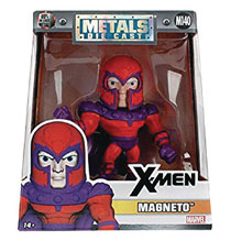Image: Metals Marvel Die-Cast Figure: X-Men - Magneto  (4-inch) - Jada Toys, Inc