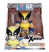 Image: Metals Marvel Die-Cast Figure: X-Men - Wolverine  (4-inch) - Jada Toys, Inc