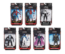 Image: Spider-Man 6-Inch Legends Action Figure Assortment 201702  - Hasbro Toy Group