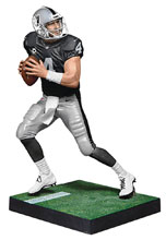 Image: NFL Madden 18 Ultimate Team Ser2 Carr Action Figure Case  - Tmp Toys / Mcfarlane's Toys