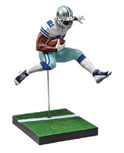 Image: NFL Madden 18 Ultimate Team Ser2 Elliott Action Figure Case  - Tmp Toys / Mcfarlane's Toys