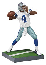 Image: NFL Madden 18 Ultimate Team Ser2 Prescott Action Figure Case  - Tmp Toys / Mcfarlane's Toys