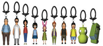 Image: Bob's Burgers Figure Hangers 24-Piece Blind Mystery Box Display  - Ucc Distributing