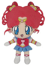Image: Sailor Moon Plush: Sailor Chibi Chibi Moon  (8-inch) - Great Eastern Entertainment