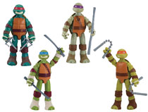 Image: Teenage Mutant Ninja Turtles XL Action Figure Assortment  - Playmates