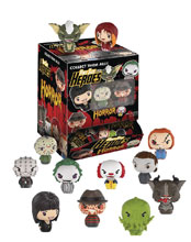 Image: Pint Sized Heroes Horror 24-Piece Blind Mystery Box Display  - Funko