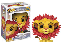 Image: Pop! Lion King Vinyl Figure: Simba Leaf Mane  - Funko