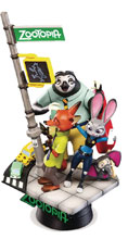 Image: Zootopia DS-001 D-Select Series Statue  (6-inch) - Beast Kingdom Co., Ltd