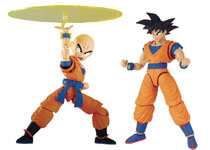 Image: Dragonball Z DX Model Kit: Son Goku & Krillin Figure-Rise  - Bandai Hobby