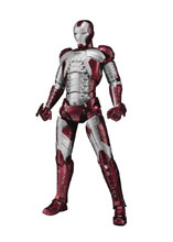 Image: Marvel S.H.Figuarts Action Figure: Iron Man Mark V  (w/Hall of Armor Set) - Tamashii Nations