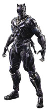 Image: Marvel Universe Variant Play Arts Kai Action Figure: Black Panther  - Square Enix Inc