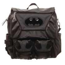 Image: DC Costume Inspired Utility Bag: Batman  - Bioworld Merchandising