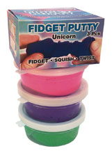 Image: Zorbitz Fidget Putty Unicorn Colors Pack  - Zorbitz, Inc