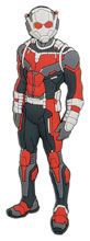 Image: Ant Man PVC Soft Touch Magnet  - Monogram Products
