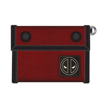 Image: Marvel Canvas Tri-Fold Wallet: Deadpool  - Bioworld Merchandising