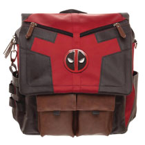 Image: Marvel Costume Inspired Utility Bag: Deadpool  - Bioworld Merchandising