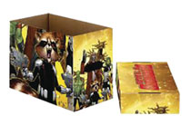 Image: Marvel Short Comic Storage Box: Guardians of the Galaxy  (5-Pack) - Wizkids/Neca