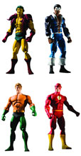 Image: History of the DC Universe Series 2 Action Figure Set  (4) -