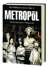 Image: Ted McKeever Library Vol. 03: Metropol HC  - Image Comics
