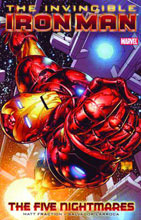 Image: Invincible Iron Man Vol. 01: Five Nightmares SC  - Marvel Comics