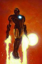 Image: Invincible Iron Man Vol. 01: The Five Nightmares SC  (variant ed) - Marvel Comics