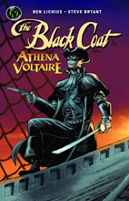 Image: Black Coat & Athena Voltaire One-Shot #1 (Black Coat cover) - Ape Entertainment