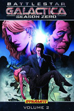 Image: New Battlestar Galactica Season Zero Vol. 02 SC  (Photo cover) - D. E./Dynamite Entertainment