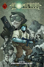 Image: Atomic Robo Vol. 02: Atomic Robo and The Dogs of War SC  - Red 5 Comics