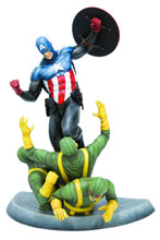 Image: New Captain America Fine Art Statue  -