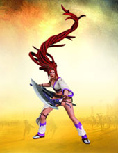 Image: Heavenly Sword Nariko Action Figure  -